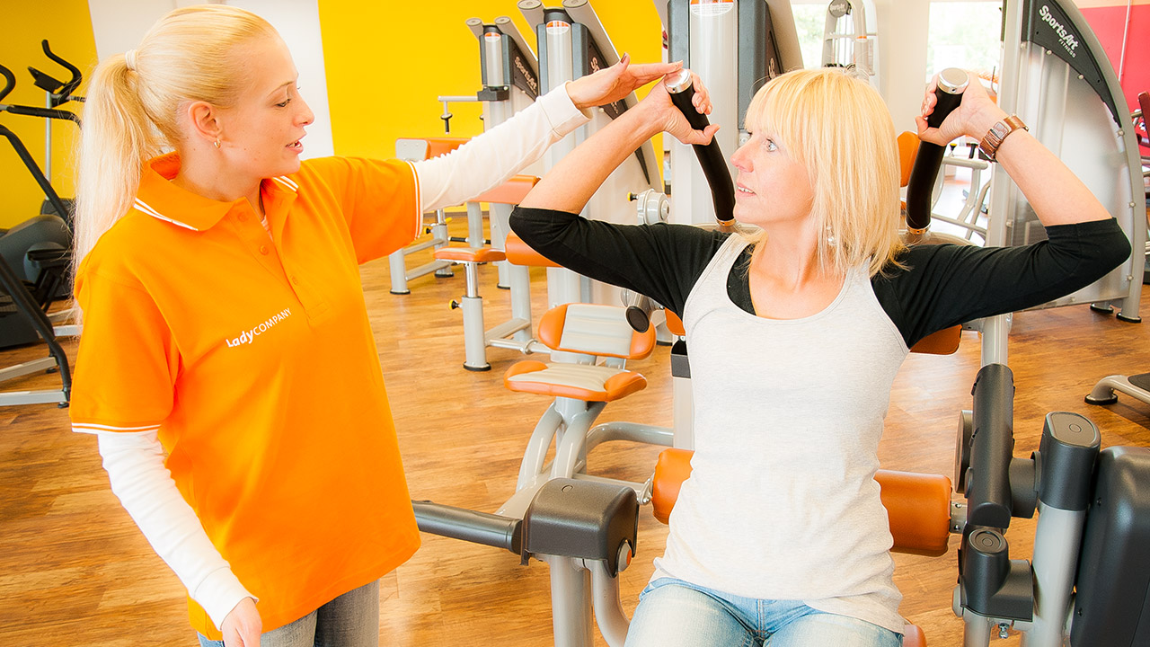 Frauenfitness in Berlin - Ladycompany - 3 Studios