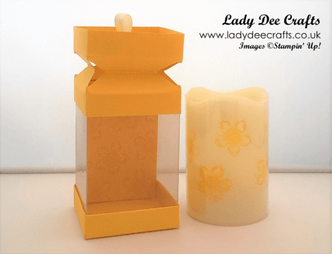 WM CANDLE ACETATE BOX