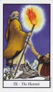 Relationship Energy - Saturday October 7, 2017 -The Hermit