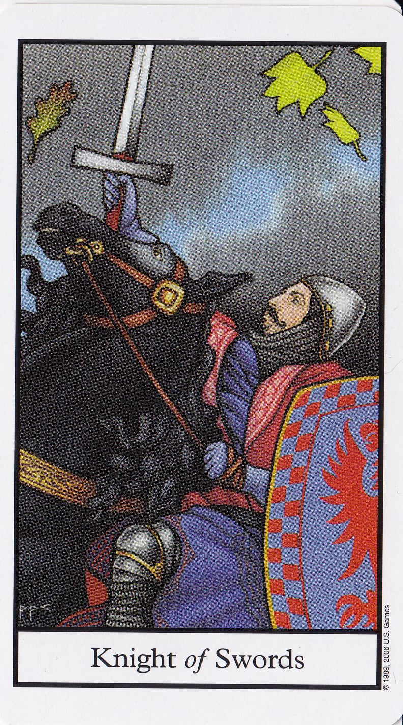 Relationship Energy - Sunday November 12, 2017 - Knight of Swords