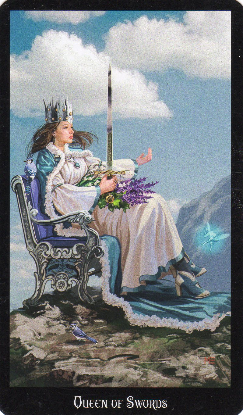 Relationship Energy – Sunday November 19, 2017 – Queen of Swords