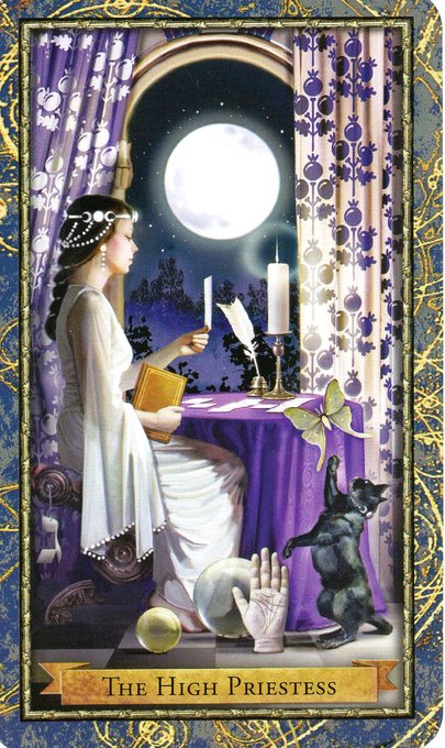 Relationship Energy – Thursday, July 18, 2019 – The High Priestess – Readings by Lady Dyanna