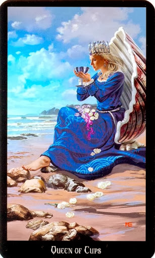 Relationship Energy – Wednesday, October 23, 2019 – Queen of Cups -Readings by Lady Dyanna