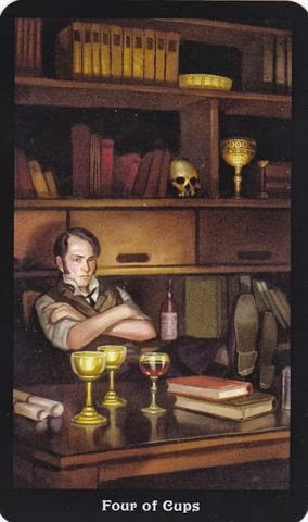 Relationship Energy –Thursday, November 14, 2019– 4 of Cups – Reading by Lady Dyanna
