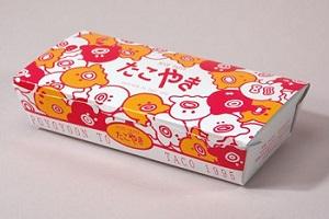 『仮面ライダーゴースト』フミ婆のたこ焼き屋の「たこやきの紙の箱」