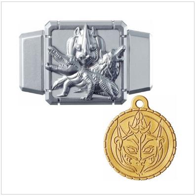 ジュウオウバックル&コンティニューメダル