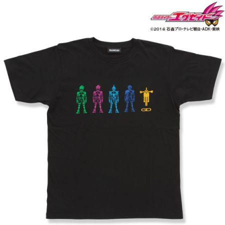 仮面ライダーエグゼイド ゲーマドライバーアイコン柄Tシャツ