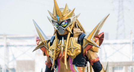 仮面ライダーエグゼイド ムテキゲーマーの髪はライダーゲージと同じデザイン?