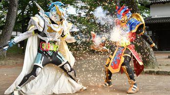 仮面ライダーエグゼイド 第37話で飛彩が仮面ライダーブレイブ レガシーゲーマー レベル100に変身!