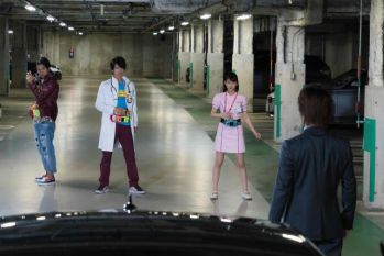 仮面ライダーエグゼイド 第37話で永夢・貴利矢・ポッピーが同時変身!