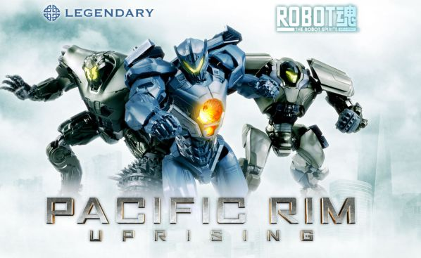 『パシフィック・リム:アップライジング』イェーガー3機がROBOT魂(SIDE JAEGER)で2018年2月発売!
