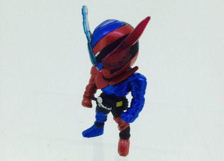 仮面ライダービルド「新SDフィギュアシリーズ」のラビットタンク&ゴリラモンドフォーム開発中サンプル公開!可愛い~