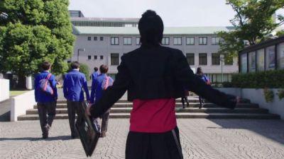 『仮面ライダージオウ』第4話の如月弦太朗っぽい天ノ川学園高校の生徒は福士蒼汰さん?