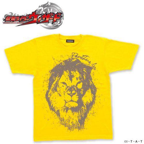 仮面ライダーウィザード KOSUKE Tシャツ(仁藤攻介モデル)ライオン 黄色