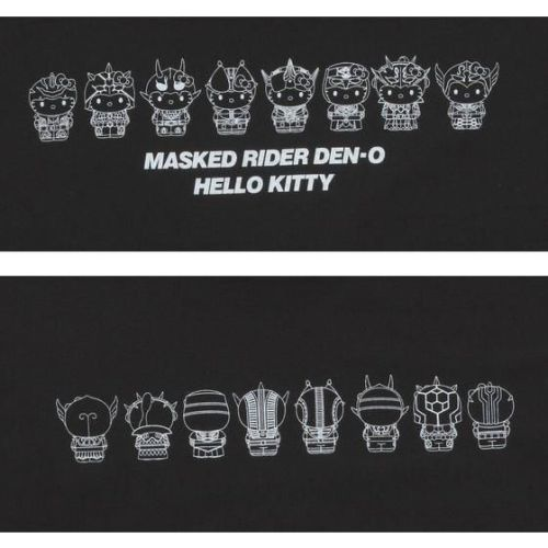 仮面ライダー電王×ハローキティ Tシャツ 並び柄