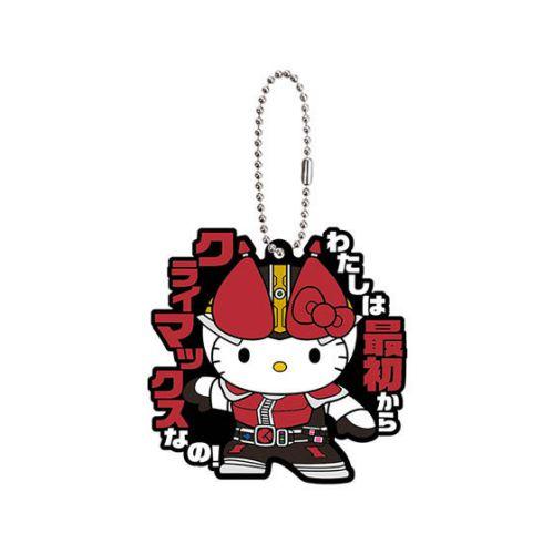 「ハローキティ×仮面ライダー電王 カプセルラバーマスコット」が7月第2週発売