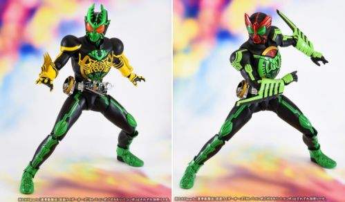 「S.H.Figuarts(真骨彫製法)仮面ライダーオーズ ガタキリバ コンボ」が魂ウェブ商店で8月8日受注開始