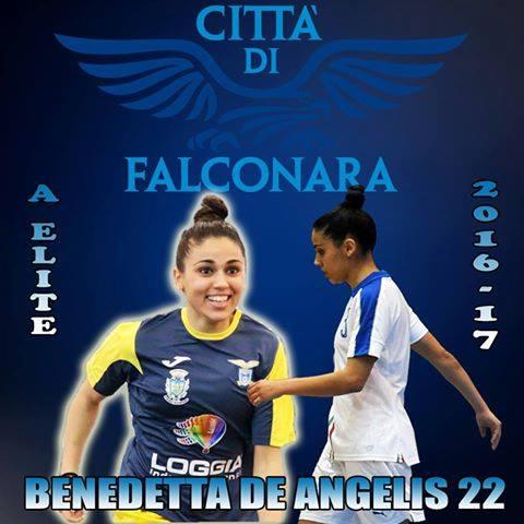 Falconara sempre più azzurro: ecco Benedetta De Angelis