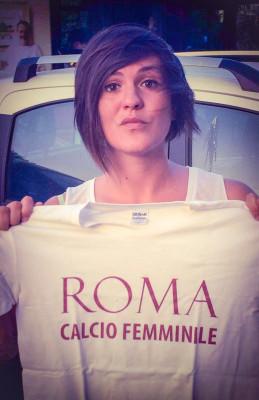 Tamara Cappelli alla Roma calcio femminile
