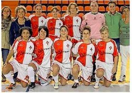 Tania Pagani al Firenze calcio a 5