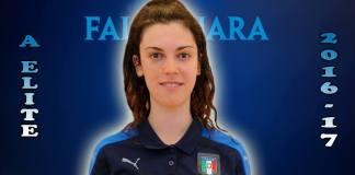 Chiara Brutti, la piccola Zidane non si muove da Falconara