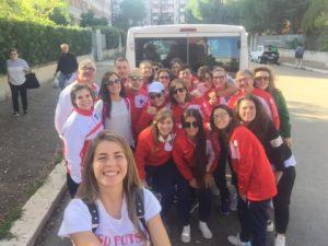 Andriani e il Futsal Molfetta in partenza