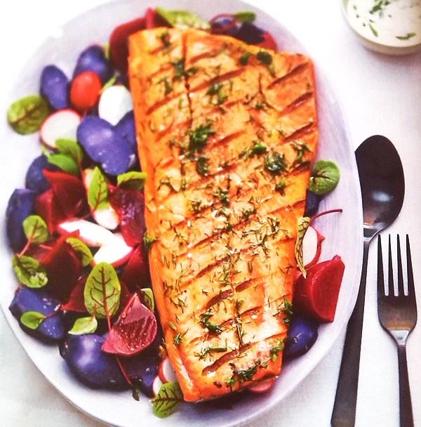 Salmon Recipe Radish Paradise