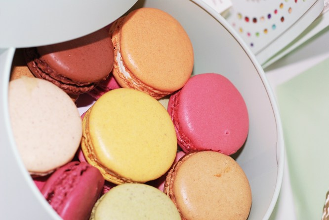 ladurée macarons from Paris