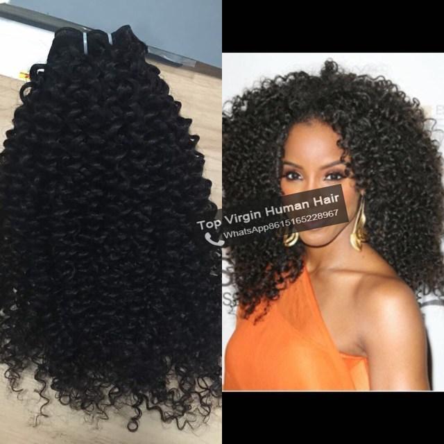 jerry curl virgin hair weave human hair bundles