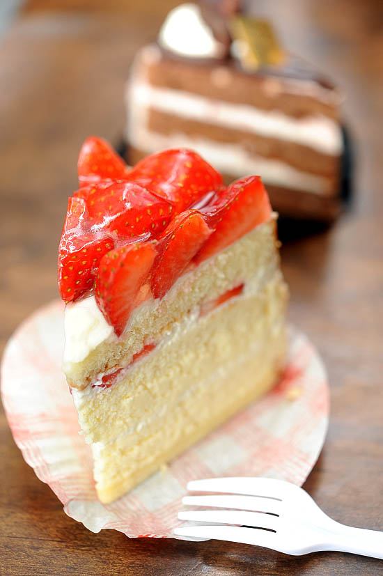 Patisserie Glace Strawberry Souffle