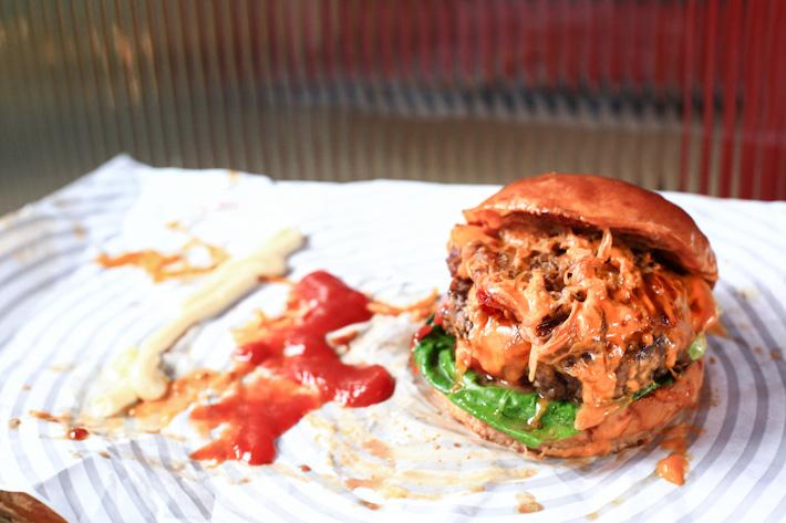 Smokey Robinson Burger