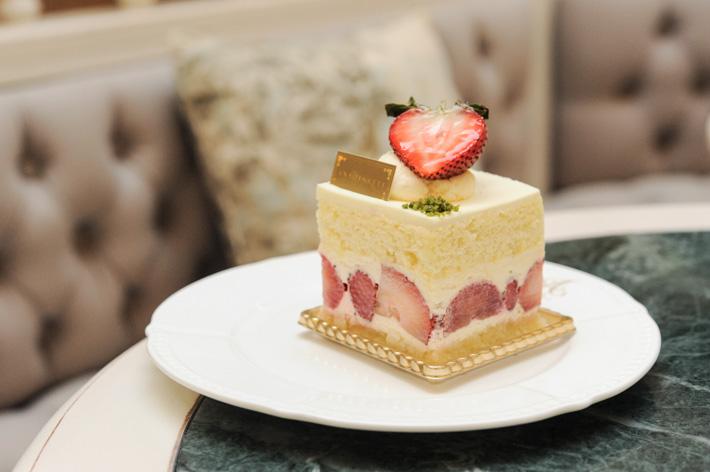 Strawberry Shortcake Antoinette