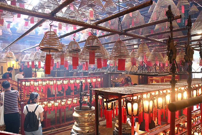 man mo temple hk