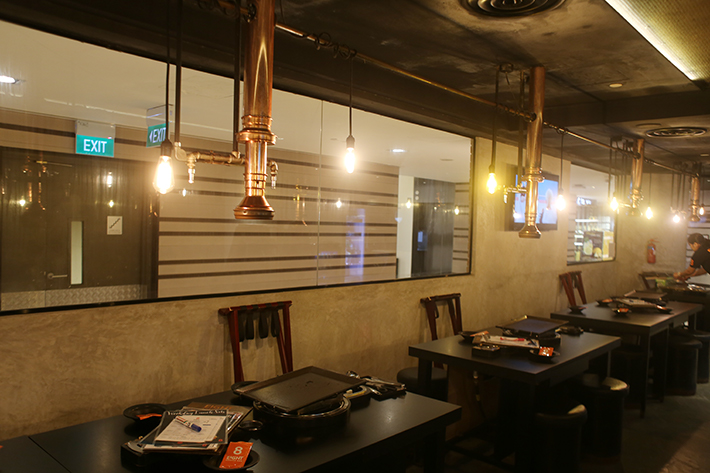 8 Korean BBQ Interior