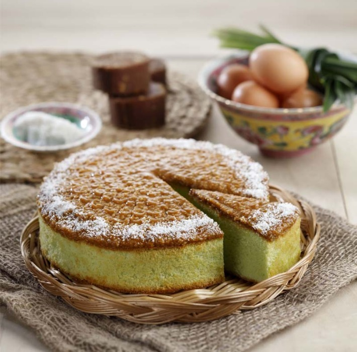 Joe & Dough Gula Melaka Pandan Cake