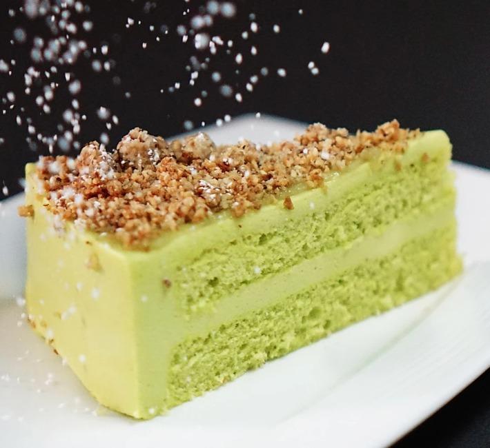 d'Good Cafe Singapore Kaya Pandan Cake