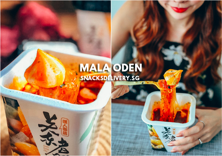 Mala Oden Snacks Delivery SG