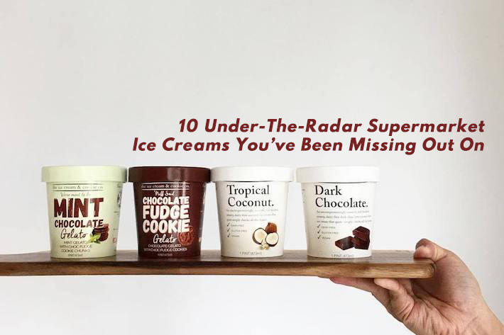 Under The Radar Supermarket Ice Cream Cover Photo