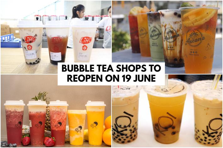 BUBBLE TEA SHOPS REOPEN COVER