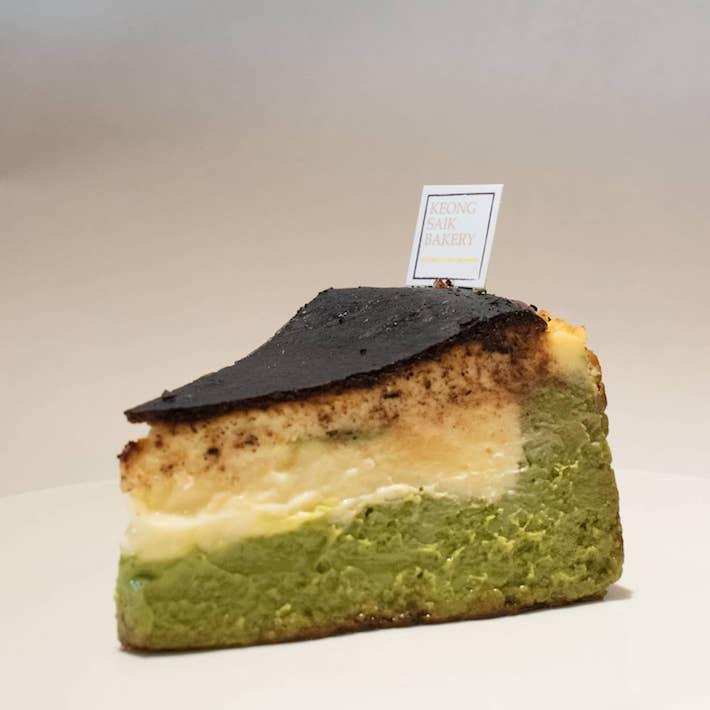Keong Saik Bakery Burnt Cheesecake from FB