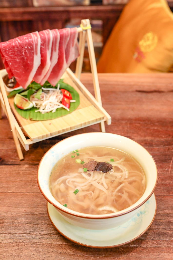 Paper Rice Wagyu Beef Pho with Truffle