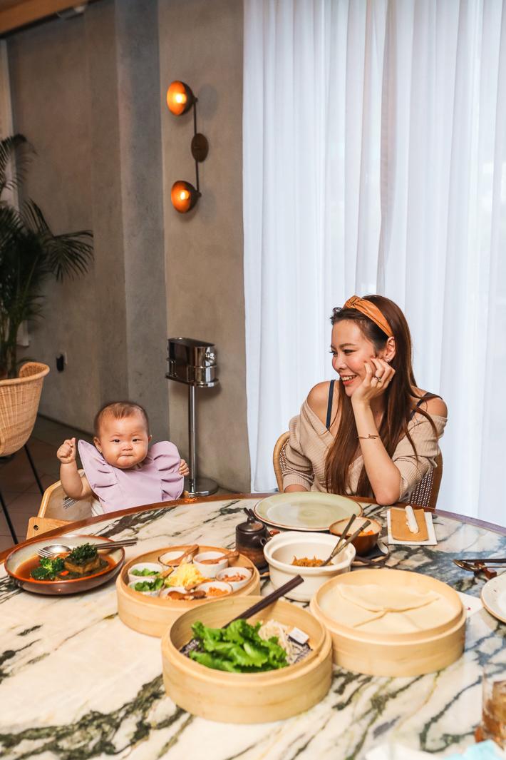 Dining at Po Restaurant