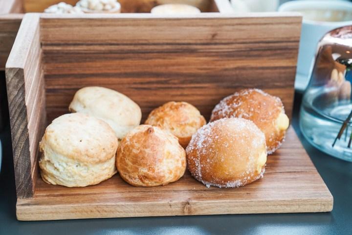 Fennel cafe scones donut