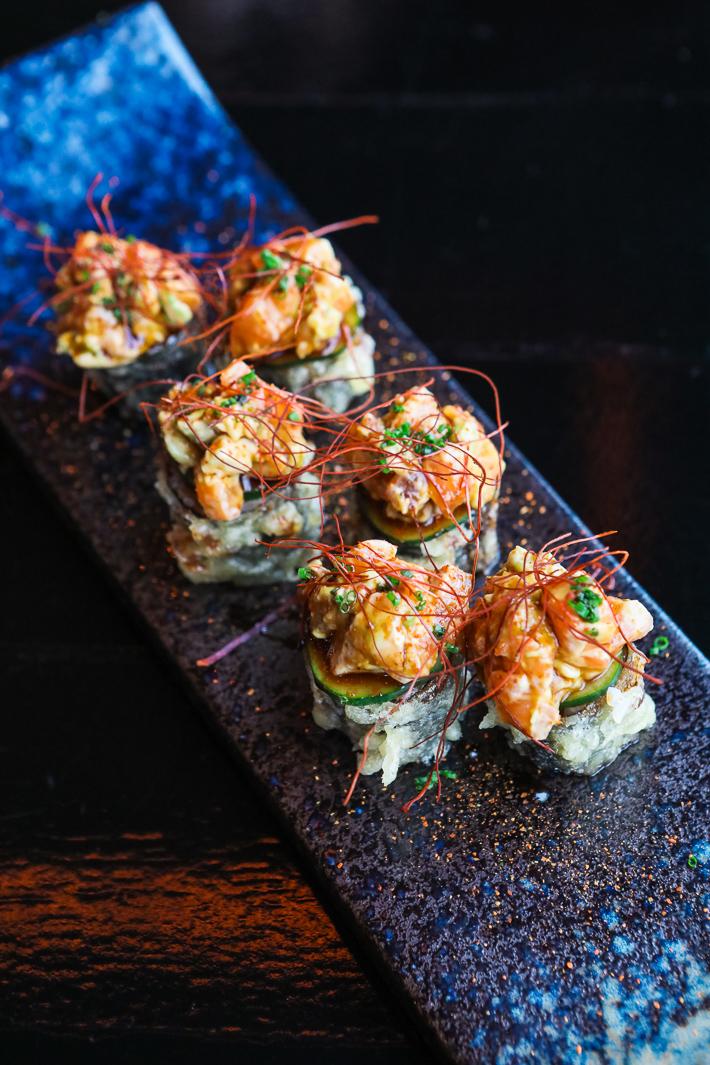 Kinki AC:DC Dynamite Sushi Roll