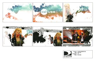 CD USA Show Promo Packaging Boards