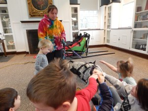 Michigan sled dog presentation. March reading