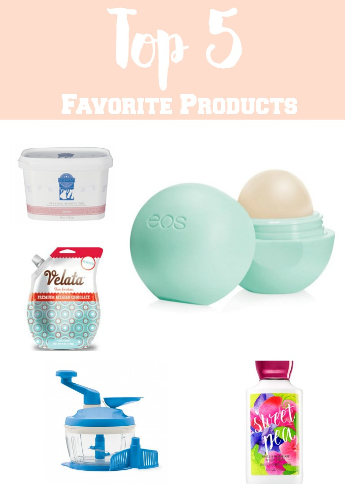 Top 5 Favorite Products