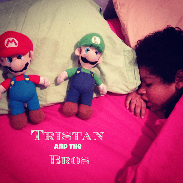 Kids and plush toys