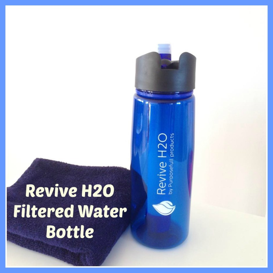 Revive H2O Filtered Water Bottle Review