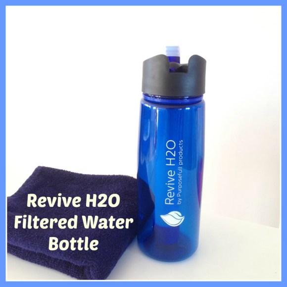 Revive H2O Filtered Water Bottle